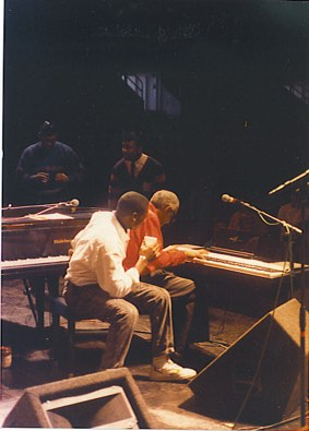 Craig with Ray Charles