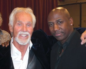 Craig with Kenny Rogers